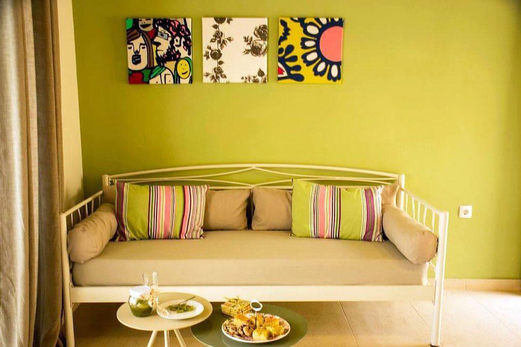 Aksos Suites - Interior