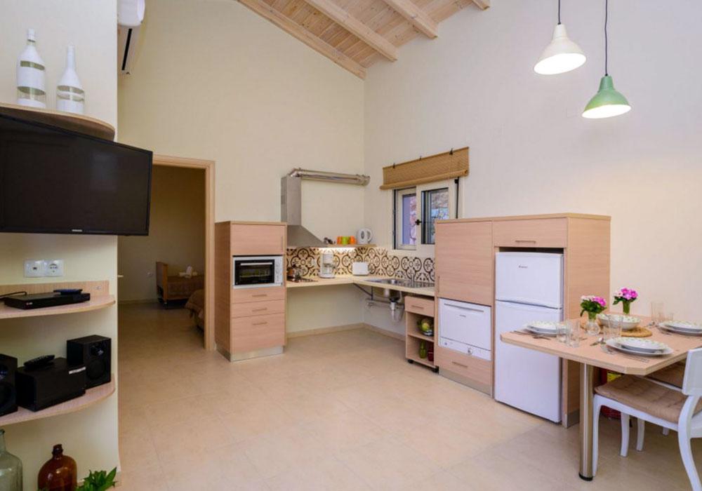 Aksos Suites - Accessible Kitchen